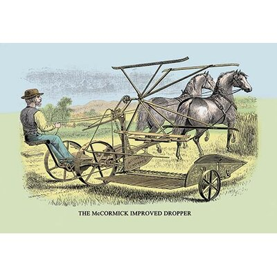 The McCormick Improved Dropper Graphic art