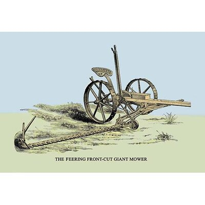 The Feering Front-Cut Giant Mower Painting Print