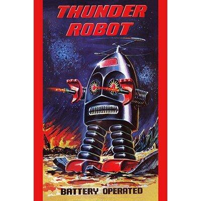 'Thunder Robot' Vintage Advertisement 0-587-24976-5C4466