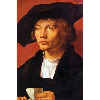 'Portrait of a Young Man' by Albrecht Durer Painting Print 0-587-26491-8