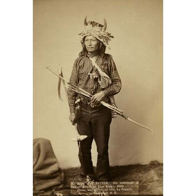 'Little the Instigator of Indian Revolt' by John C.H. Grabill Photographic Print 0-587-23799-6C2436