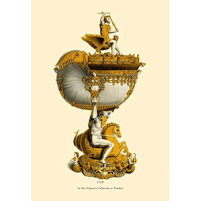 Cup in Her Majesty's Collection at Windsor by H. Shaw Graphic Art 0-587-08759-5C2842