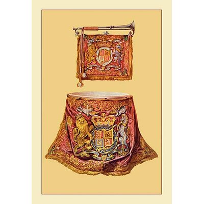 'State Trumpet and Kettle Drum' by Theodore Thomas Graphic Art 0-587-11527-0