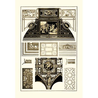 'Cloister-Vaults and Coved Ceilings' by J. Buhlmann Graphic Art 0-587-09091-x