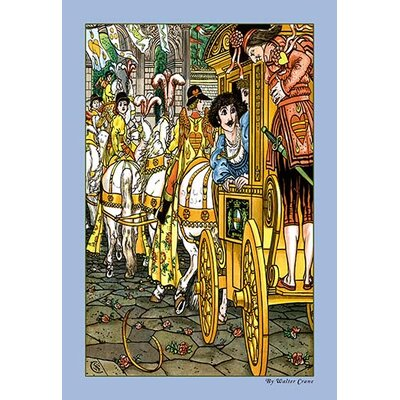 The Frog Prince - Procession by Walter Crane Painting Print 0-587-09604-7