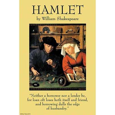 'Hamlet' by William Shakespeare Graphic Art 0-587-26990-1