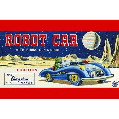 'Robot Car with Firing Gun & Noise' Vintage Advertisement 0-587-25049-6C2030