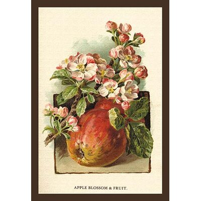 'Apple Blossom and Fruit' by W.H.J. Boot Print of painting