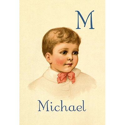 M for Michael by Ida Waugh Painting Print 0-587-11295-6