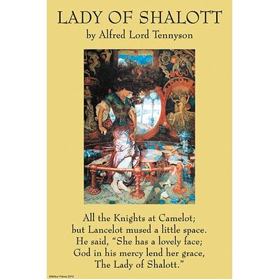 a literary analysis of the lady of shalott by alfred lord tennyson Explanation: the lady of shalott by alfred, lord tennyson 1809-1892 source citation lines 1-9 this poem starts off by giving a visual overview of the situation.