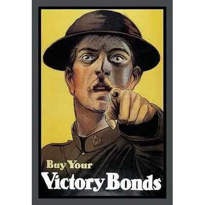 Buy Your Victory Bonds by Anonymous Framed Vintage Advertisement 0-587-10801-0