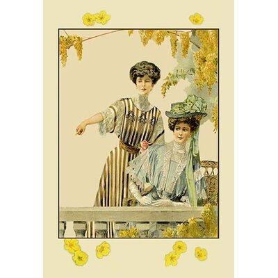 Ladies on the Balcony Painting Print 0-587-11916-0