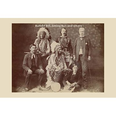Buffalo Bill, Sitting Bull, and Others Photographic Print 0-587-12452-0C2842