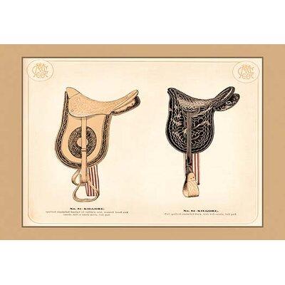 'Kilgore Saddles #2' Painting Print