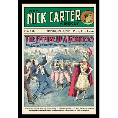'Nick Carter: The Empire of a Goddess' Vintage Advertisement 0-587-15506-x