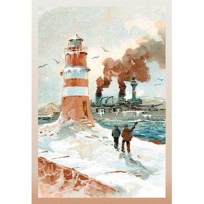 U.S. Navy: January Morning by Willy Stower Painting Print