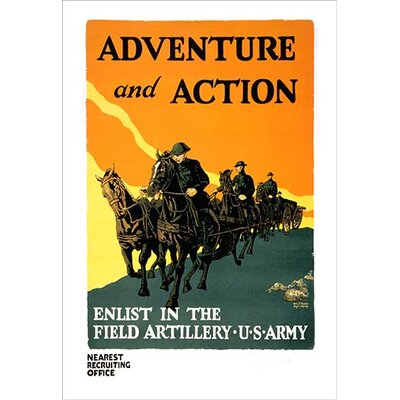 'Adventure and Action' by Harry S. Mueller Graphic Art 0-587-21518-6