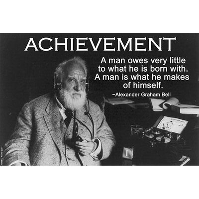 'Achievement' by Wilbur Pierce Photographic Print 0-587-22188-7