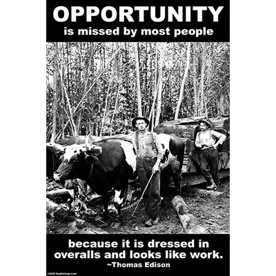 'Opportunity' by Wilbur Pierce Photographic Print 0-587-23752-x