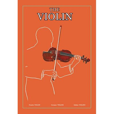'The Violin' Graphic Art 0-587-15278-8C2436