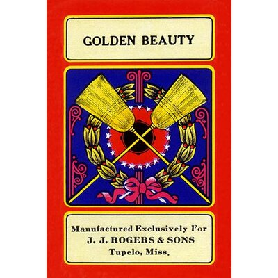 'Golden Beauty' Vintage Advertisement 0-587-23381-8C4466
