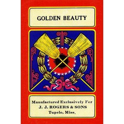 'Golden Beauty' Vintage Advertisement 0-587-23381-8