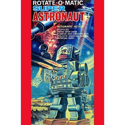'Rotate-O-Matic Super Astronaut' Vintage Advertisement 0-587-25050-x