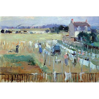 'Laundry Day' by Berthe Morisot Painting Print Size: 66