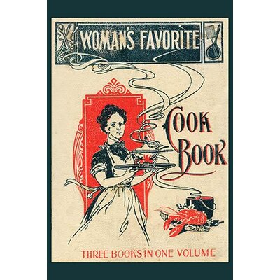 'Womans Favorite Cook Book' Vintage Advertisement