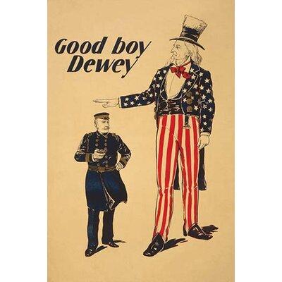 "'Good boy Dewey' Graphic Art Size: 30"" H x 20"" W 0-587-23736-8"