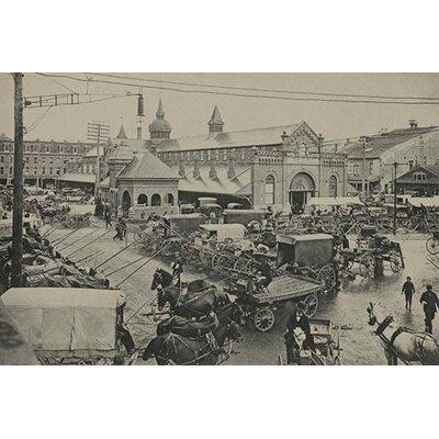 'Market Square' Photographic Print Size: 30
