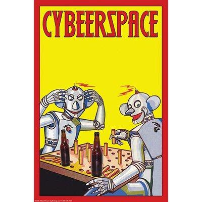 'Cybeerspace' by Wilbur Pierce Wall Art