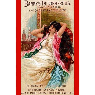 'Barry's Tricopherous - Long Hair' Vintage Advertisement 0-587-25717-2