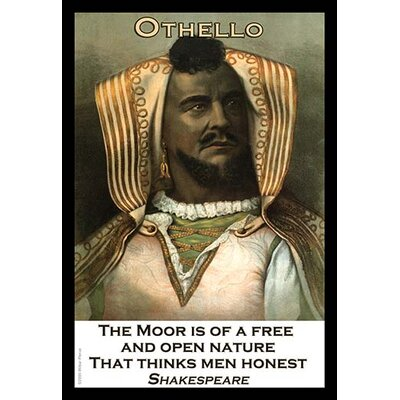 'Othello' by William Shakespeare Graphic Art 0-587-20883-xC4466