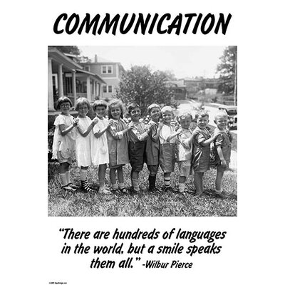 'Communication' by Wilbur Pierce Photographic Print 0-587-24729-0