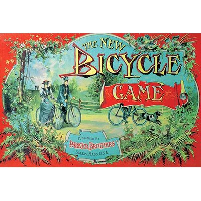 'The New Bicycle Game' Vintage Advertisement Size: 30