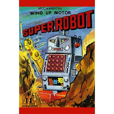 'Super Robot' Vintage Advertisement 0-587-24969-2C2842
