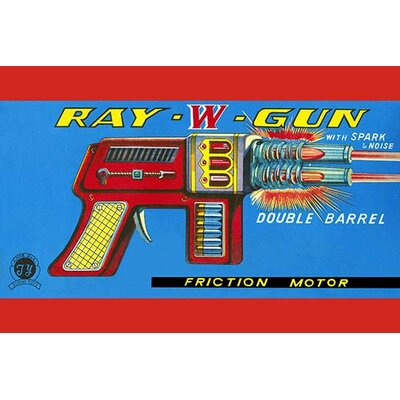 'Ray W Gun' Vintage Advertisement 0-587-25072-0C4466