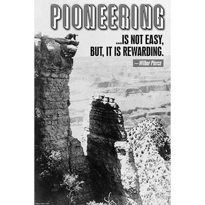 'Pioneering' by Wilbur Pierce Photographic Print 0-587-22311-1C2842