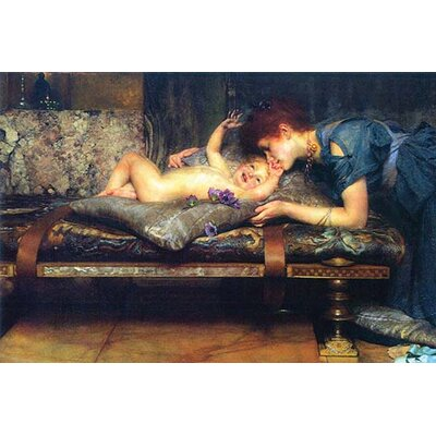 "'A Paradise on Earth Detail' by Alma-Tadema Painting Print Size: 36"" H x 24"" W 0-587-25759-8C2436"