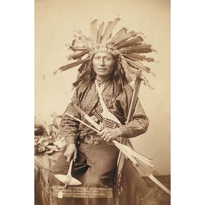 'Little, the Instigator of Indian Revolt' by John C.H. Grabill Photographic Print 0-587-23798-8C2436