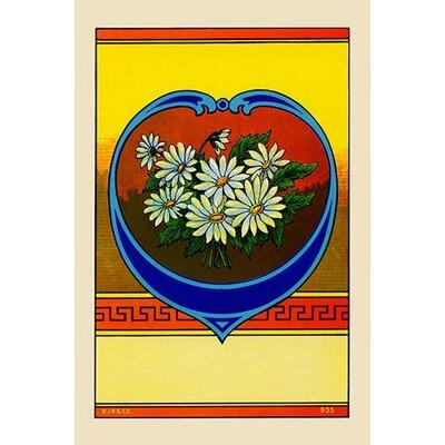 'Flower Broom Label' Vintage Advertisement