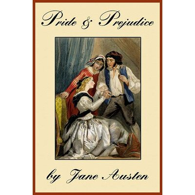 'Pride & Perjudice' by Jane Austen Graphic Art 0-587-22953-5