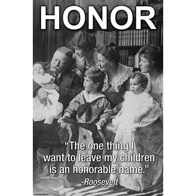'Honour' by Wilbur Pierce Photographic Print 0-587-24024-5