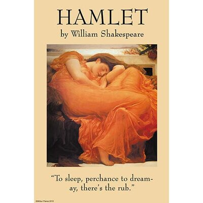 'Hamlet' by William Shakespeare Textual Art 0-587-27227-9