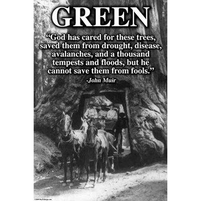 'Green' by Wilbur Pierce Photographic Print 0-587-24704-5