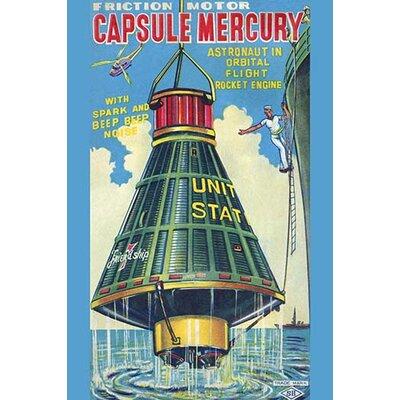 'Capsule Mercury' Vintage Advertisement 0-587-24990-0C2842