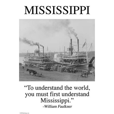 'Mississippi' by Wilbur Pierce Photographic Print 0-587-24788-6