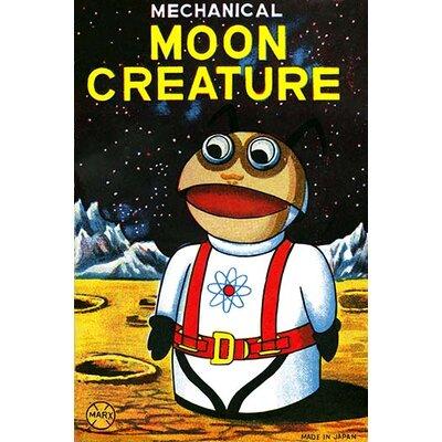 'Mechanical Moon Creature' Vintage Advertisement Size: 30