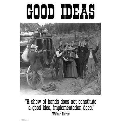 'Good Ideas' by Wilbur Pierce Photographic Print 0-587-24743-6C2842